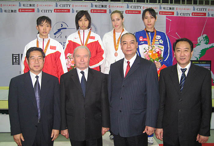 LOTUSMAN – the Designated Prize for Women's Sabre World Cup 2008
