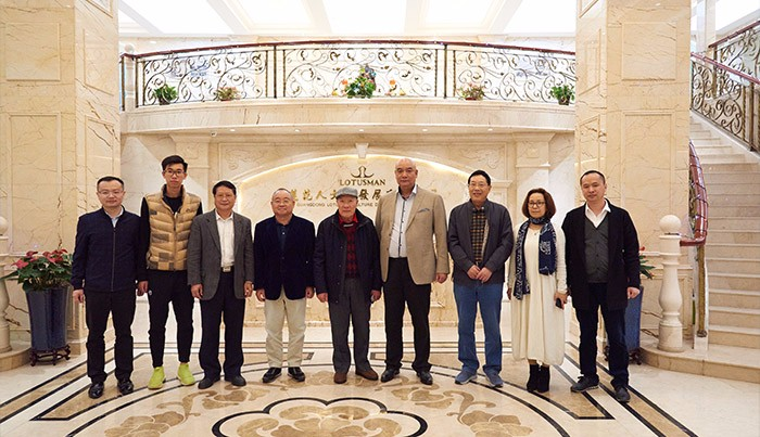 Leaders from Global Association of the Cantonese visit CARIDAR Watch Industry